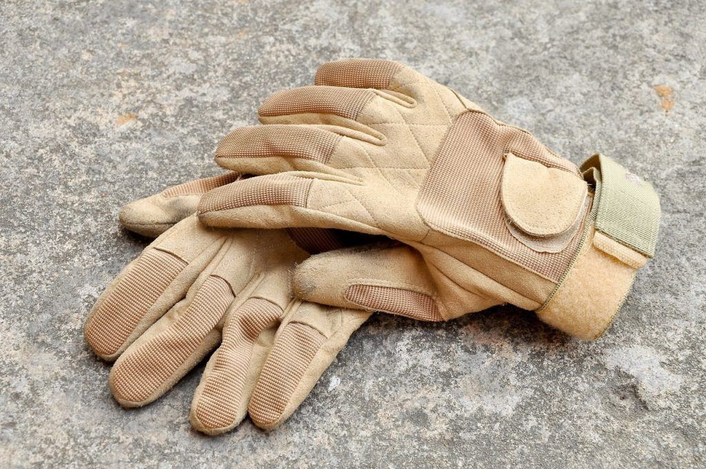 Leather Work Gloves as a Truck Driver Gift