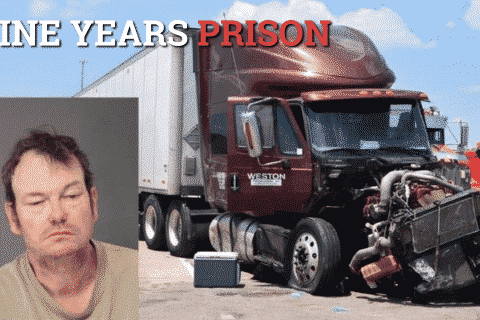 nine years prison for trucker who killed mother and two daughters banner
