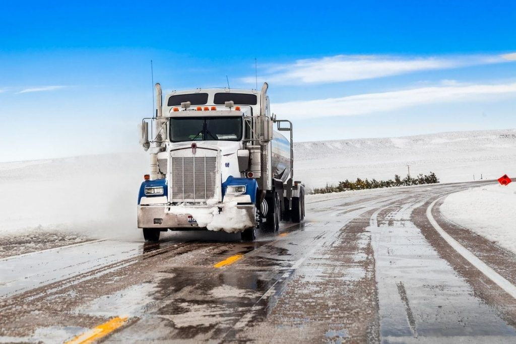 Ice Road Trucking - One of the best truck driver jobs in 2021