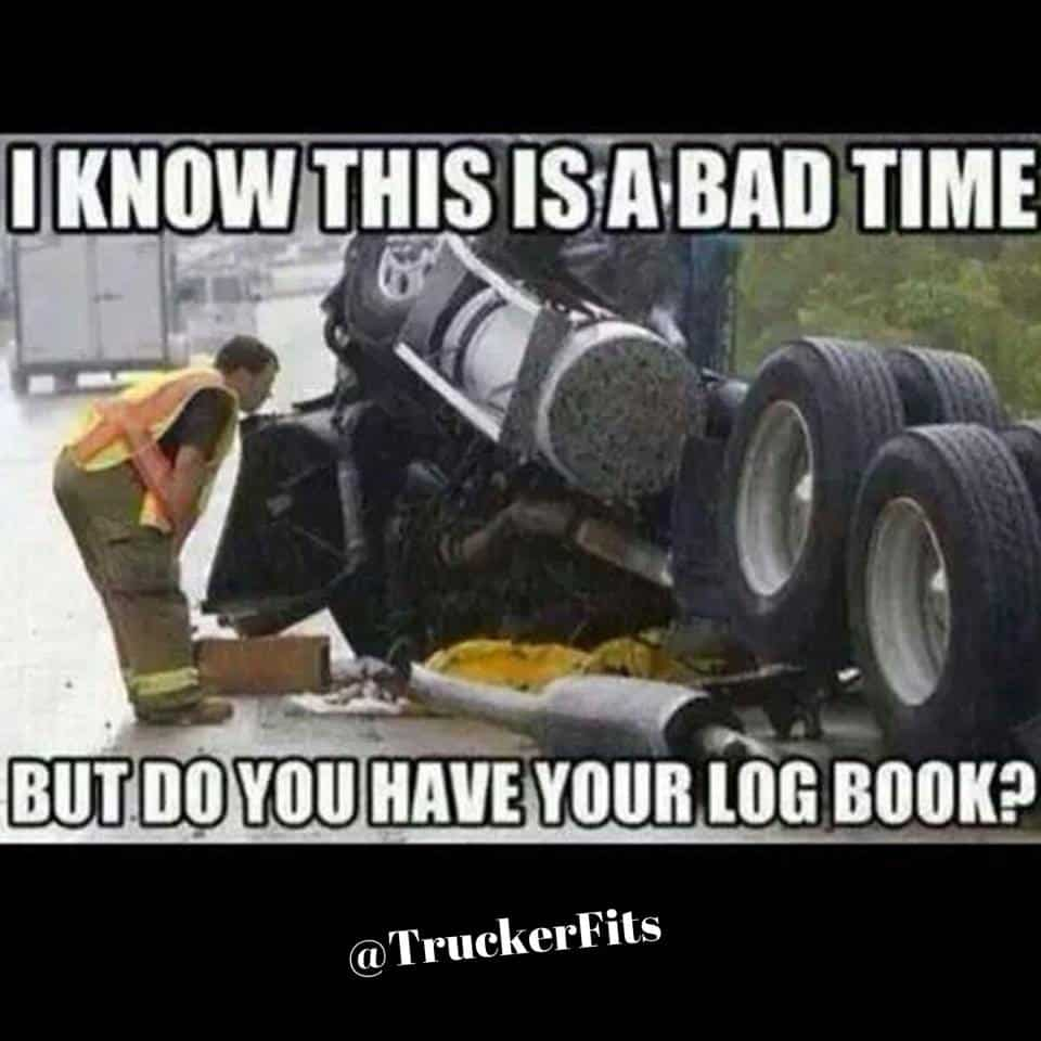 DOT Inspections Have the Worst Timing Meme