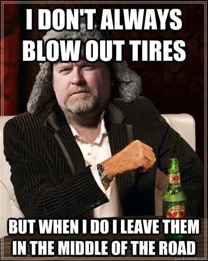 The Most Interesting Trucker in the World Meme
