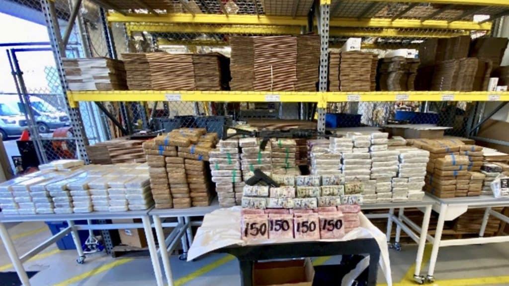 Two Major Drug Busts, Cross-Border Trucking Involved