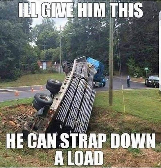 Strapping Master, Driving Disaster Meme