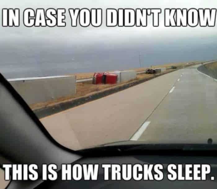 Trucks in Their Natural Habitat Meme
