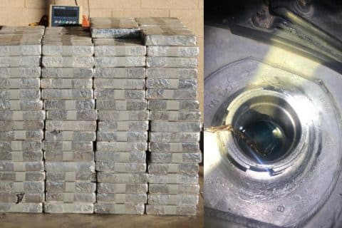 Concealed Meth Seized in Tractor-Trailers by CBP in CA and TX