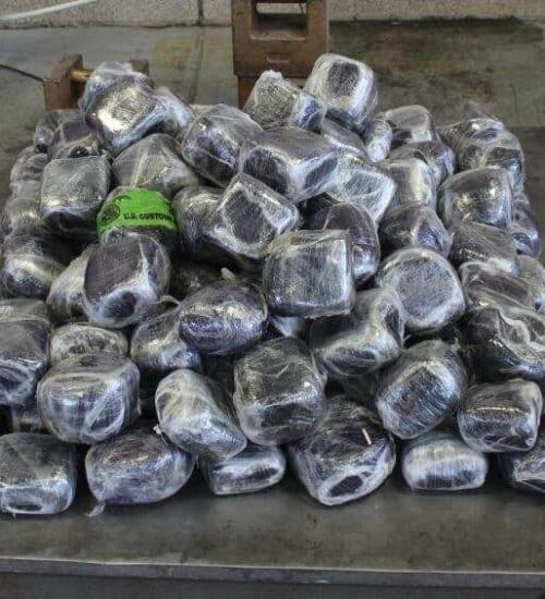 98 and half kg meth seized by cbp in pharr