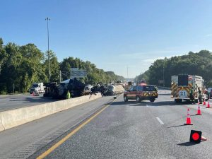 WILDWOOD, FL - A truck driver died in a fiery crash on I-75 near Wildwood this Monday morning.
