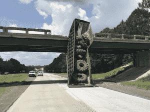 Trucker Who Shifted Bridge 6 Feet Had an Expired CDL